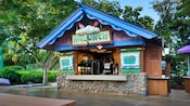 Exterior of Avalunch, a quick-service eatery at Disney's Blizzard Beach water park