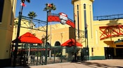A sunny afternoon at the gateway to the ESPN Wide World of Sports Complex