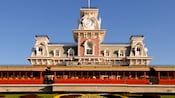 The Main Street Railroad Station at Walt Disney World Railroad