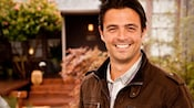 TV star John Gidding, lead designer and host of HGTV's Curb Appeal