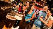 Happy bar patrons at the Raglan Road