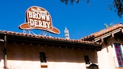 The Hollywood Brown Derby sign on the building's roof