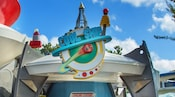 Cool Ship, a rocket-themed quick-service location in Tomorrowland at Magic Kingdom park
