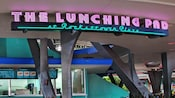 Sign for The Lunching Pad