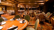 The dining area of 'Ohana restaurant in Polynesian Resort