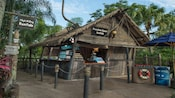 High & Dry Rentals storefront at Disney's Typhoon Lagoon water park