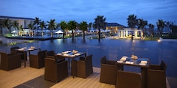 The pool at the Sunrise Hoi An in Vietnam