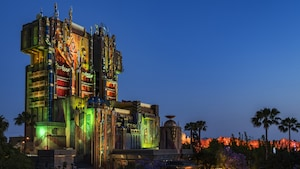 Guardians of the Galaxy Attraction at Disney's California Adventure Park