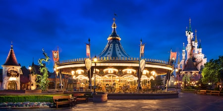 Le Carrousel de Lancelot at Disneyland Paris
