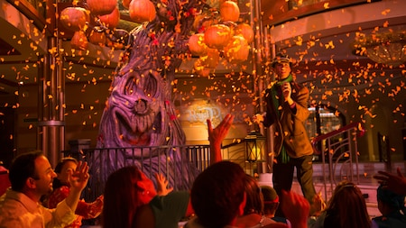 Celebrate Halloween under the pumpkin tree!