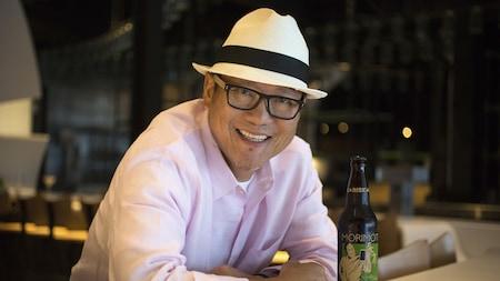 Chef Masaharu Morimoto de Morimoto Asia en Disney Springs, cerca de Orlando