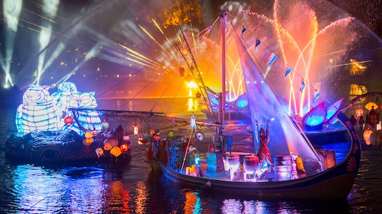 Rivers of Light Dining Package