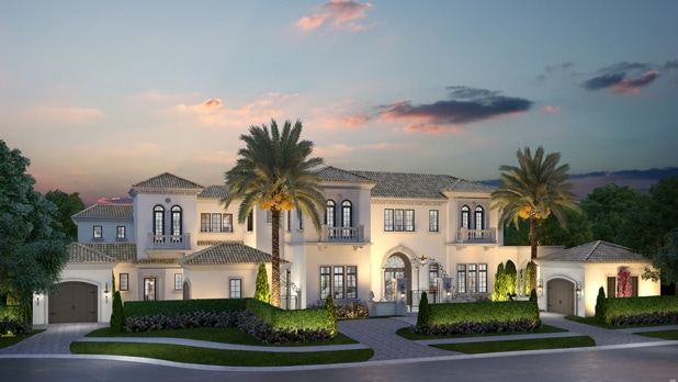 Map The Capolavoro at Four Seasons Private Residences Orlando