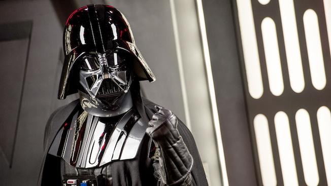 The menacing Darth Vader, Dark Lord of the Sith