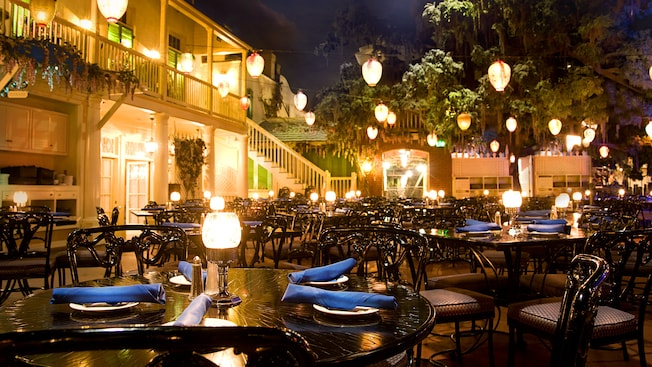 blue bayou restaurant menu disneyland resort