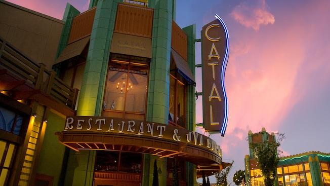 Catal Restaurant Dining Amp Restaurants Downtown Disney