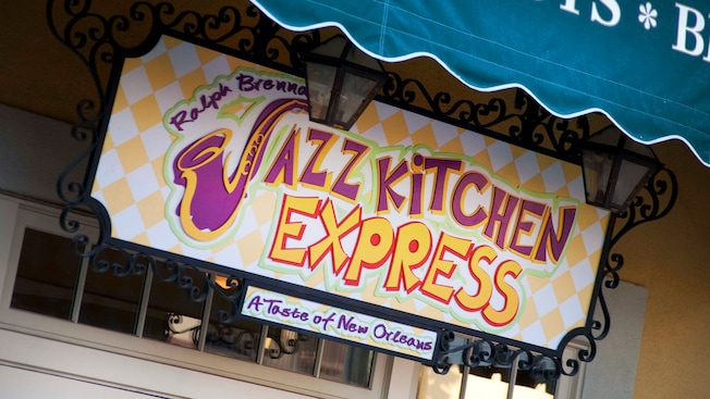 Delicieux Sign For: Ralph Brennanu0027s Jazz Kitchen Express, A Taste Of New Orleans. Downtown  Disney District