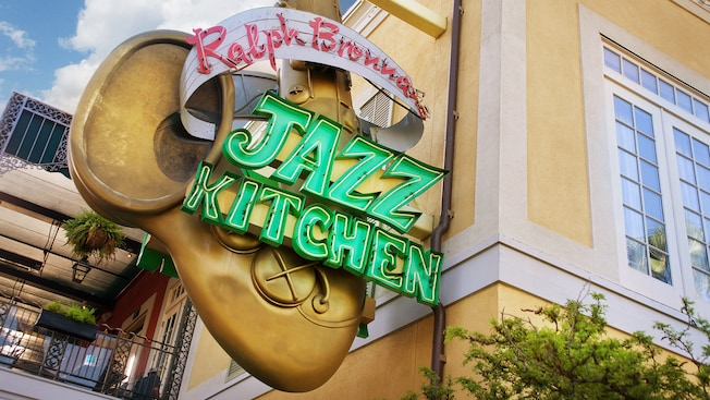 Great Entrance Sign For Ralph Brennanu0027s Jazz Kitchen At Downtown Disney District Design