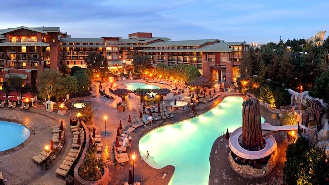 Pools disney 39 s grand californian hotel spa - Grand menseng hotel swimming pool ...