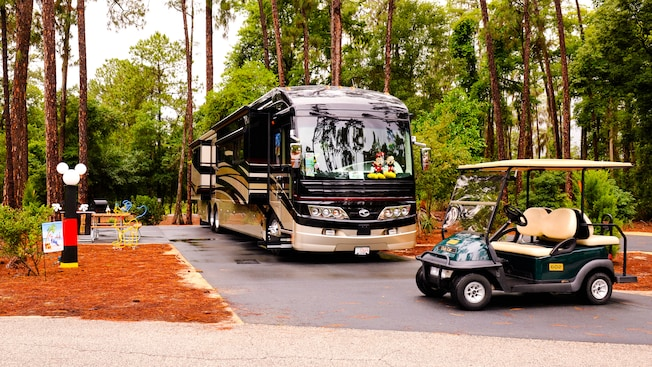 Golf cart rental walt disney world resort for Fort wilderness cabins reservations