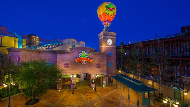 The entrance to Muppet*Vision 3D at Disney's Hollywood Studios