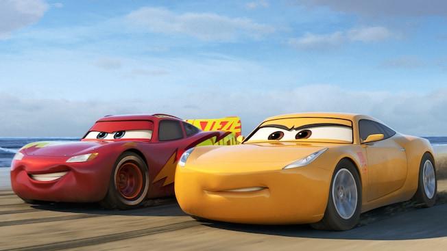 Lightning McQueen et Cruz Ramirez