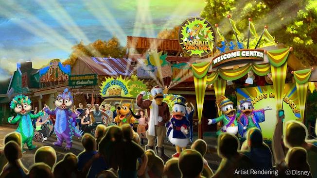 """Resultado de imagem para """"Donald's Dino-Bash!"""""""