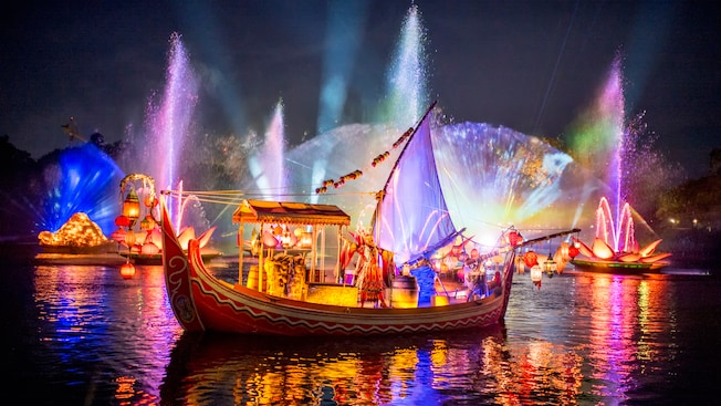 Image result for rivers of light animal kingdom 2017