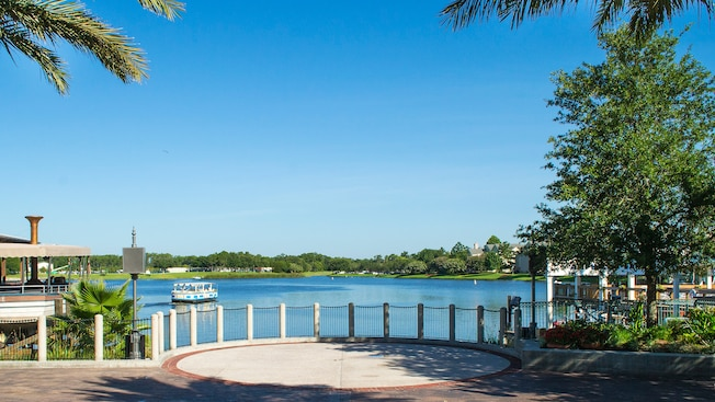 Waterview Park, localizado no coração do The Landing no Disney Springs, no Walt Disney World Resort