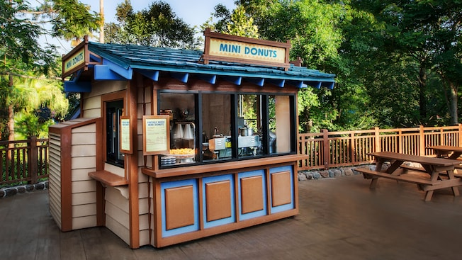 Exterior do Mini Donuts no Parque Aquático Disney's Blizzard Beach