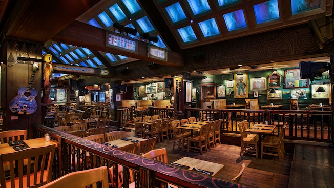 Salle à manger du Crossroads at House of Bluesᴹᴰ au Downtown Disney