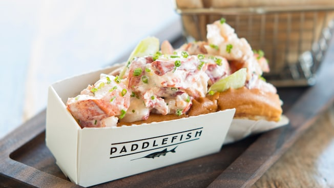 Image result for paddlefish disney springs menu