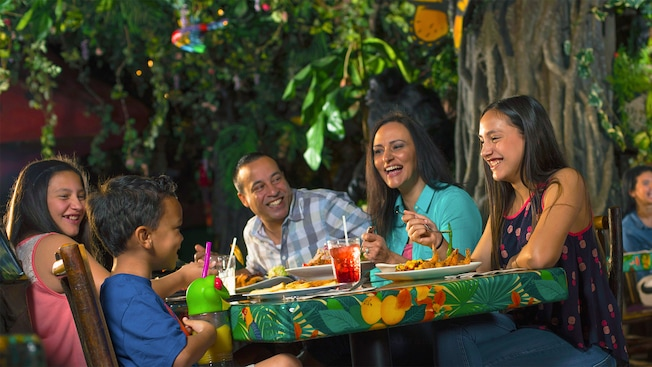 Restaurante Temático em Orlando: Rainforest Cafe | Foto: Walt Disney World