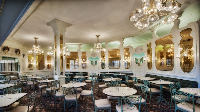 Plaza Restaurant Disney World Menu