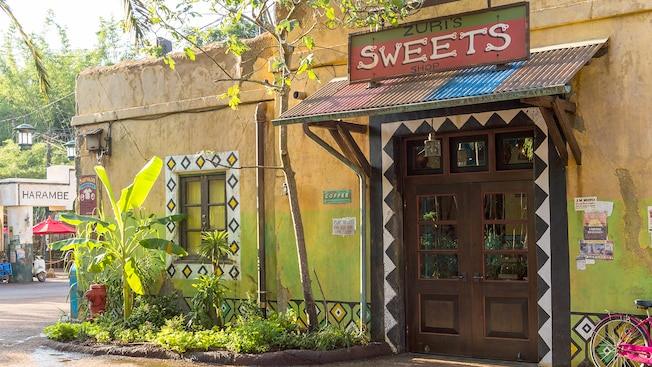 Zuri's Sweets Shop is an Africa-themed confectionery shop in Disney's Animal Kingdom theme park