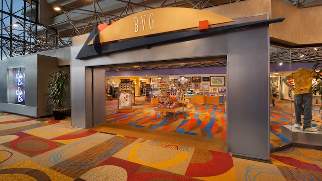 Vitrine de Bayview Gifts au Disney's Contemporary Resort