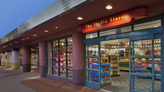 Exterior de The Studio Store en Disney's Hollywood Studios, en Walt Disney World Resort