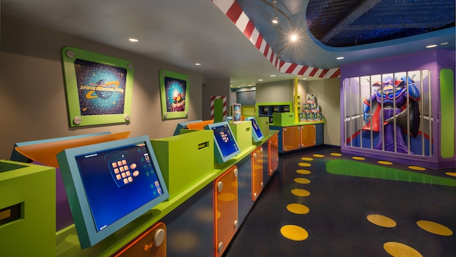 Buzz's Star Command in Tomorrowland at Magic Kingdom park