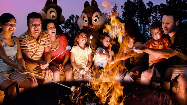 Image result for Free Campfire Sing-A-Long With Chip & Dale