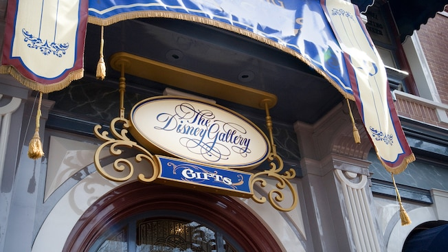 Entrance to The Disney Gallery on Main Street, U.S.A.