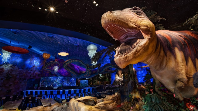 t rex restaurant walt disney world resort