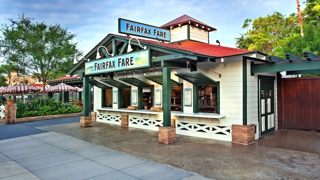 Exterior of Fairfax Fare at Disney's Hollywood Studios