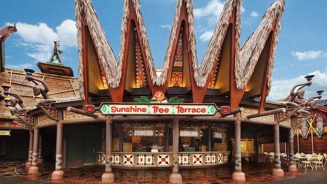 Building sign for Sunshine Tree Terrace