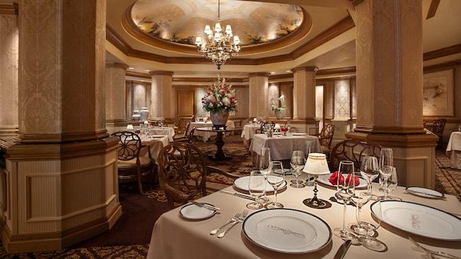 Victoria & Albert's dining room