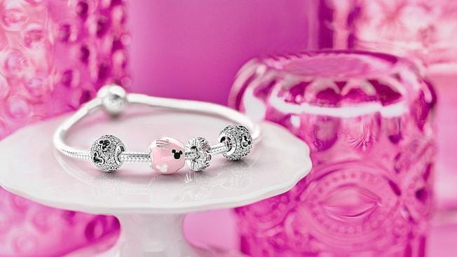 A Disney themed Pandora charm bracelet