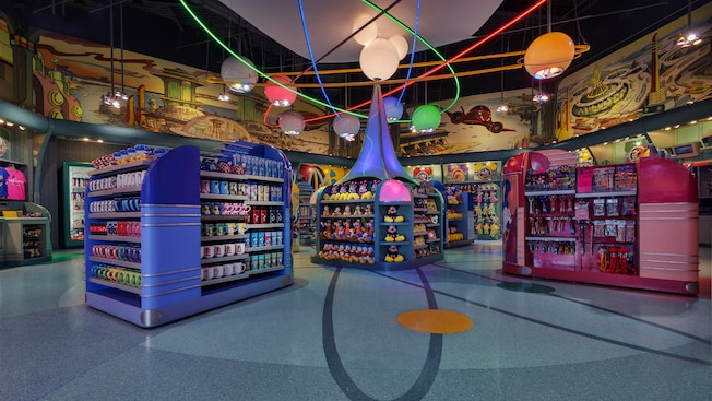 Mugs, plush toys and more inside Mickey's Star Traders in Tomorrowland