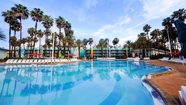 de la piscina Surfboard Bay de Disney's All-Star Sports Resort