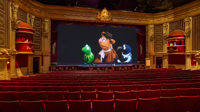 Image result for muppets 3d vision hollywood