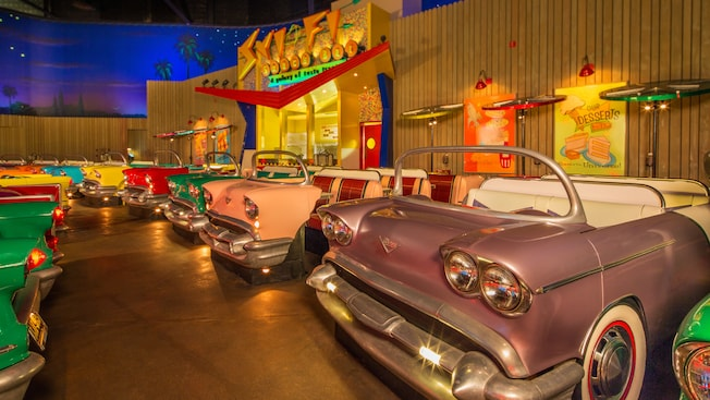 Image result for sci-fi dine-in theater restaurant disney world