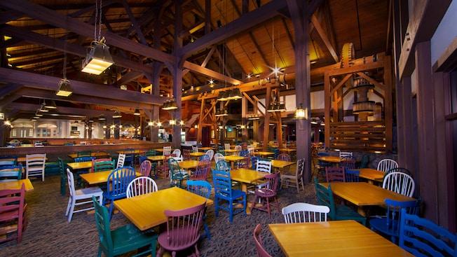 Riverside Mill Food Court Walt Disney World Resort